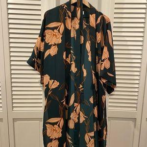 A New Day Floral Kimono